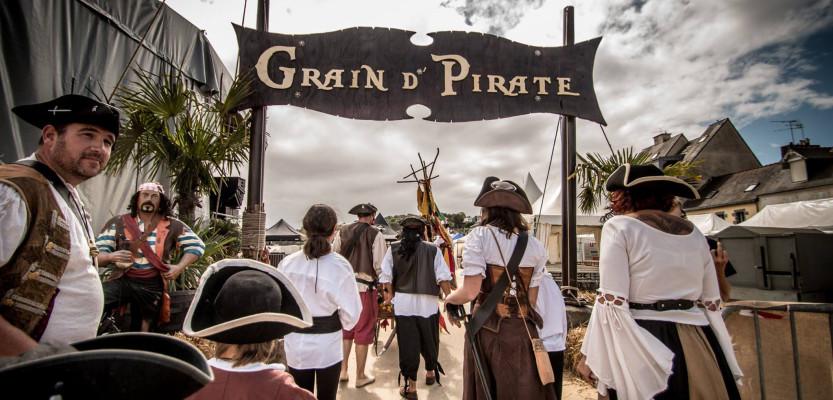 Festival Grain d'Pirate : grand rassemblement de pirates, corsaires et flibustiers