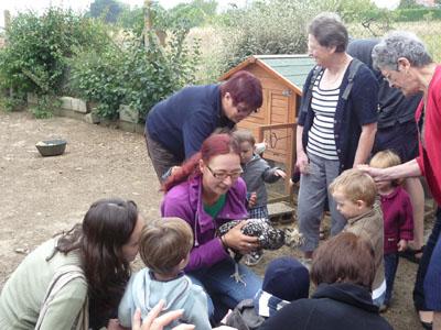 Porte-ouverte dans la ferme pédagogique « la Petite Tagarine » pour les Babies