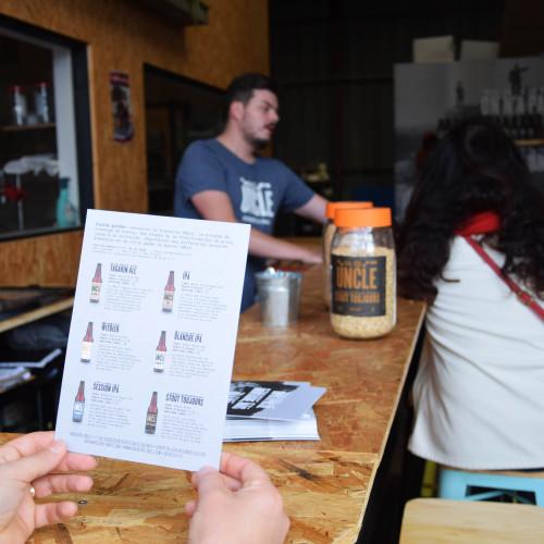 Chaque samedi: Visite de la brasserie UNCLE