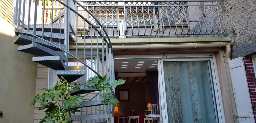 «Stergann», charmante maison atypique au centre-ville et à 2 pas des plages – labellisée 3 clés