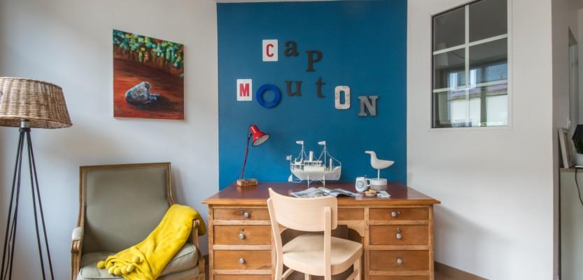 «Cap Mouton», appartement de charme à 250 m de la mer – classé 4 étoiles