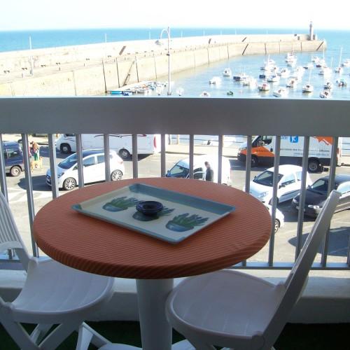 Appartement avec vue sur mer et sur le port