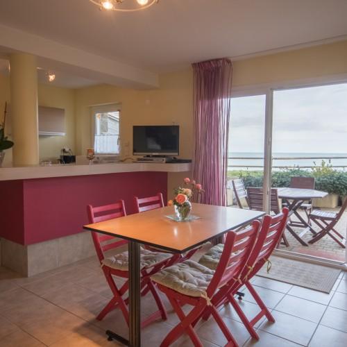 Appartement avec vue mer – labellisé 3 clés et classé 3 étoiles