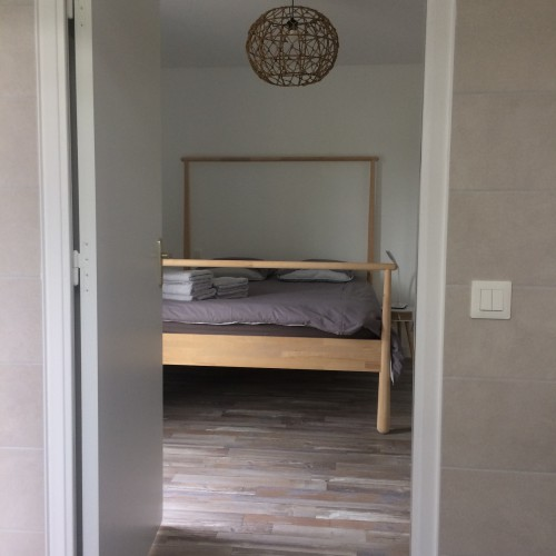 Résidence des 3 îles – Appartement cosy tout neuf au RDC avec jardin – labellisé handicap auditif, mental et visuel