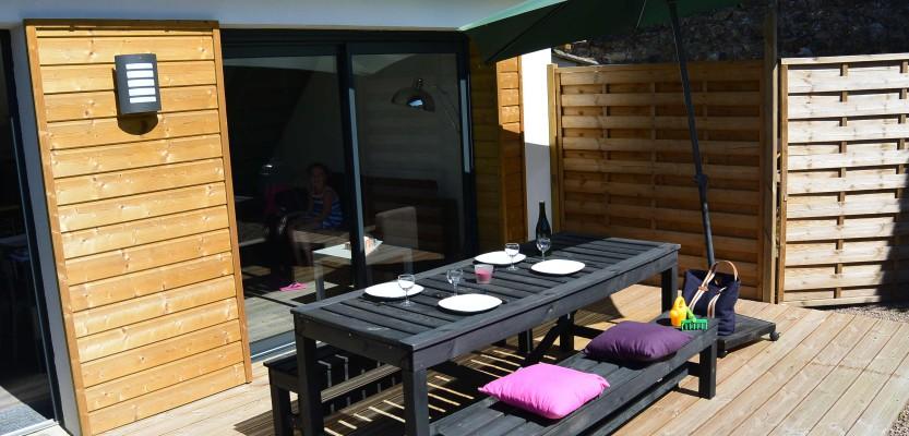 «La Caravelle», maisonnette avec jardin – classée 3 étoiles