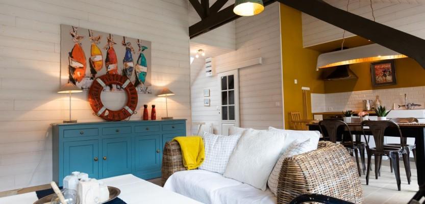 «Digue et Dentelle», appartement de charme à 250 m de la mer – classé 4 étoiles
